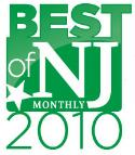 NJ Monthly Magazine 'Best of NJ 2010'